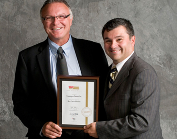 Compugen wins Bronze for Best Green IT Solution