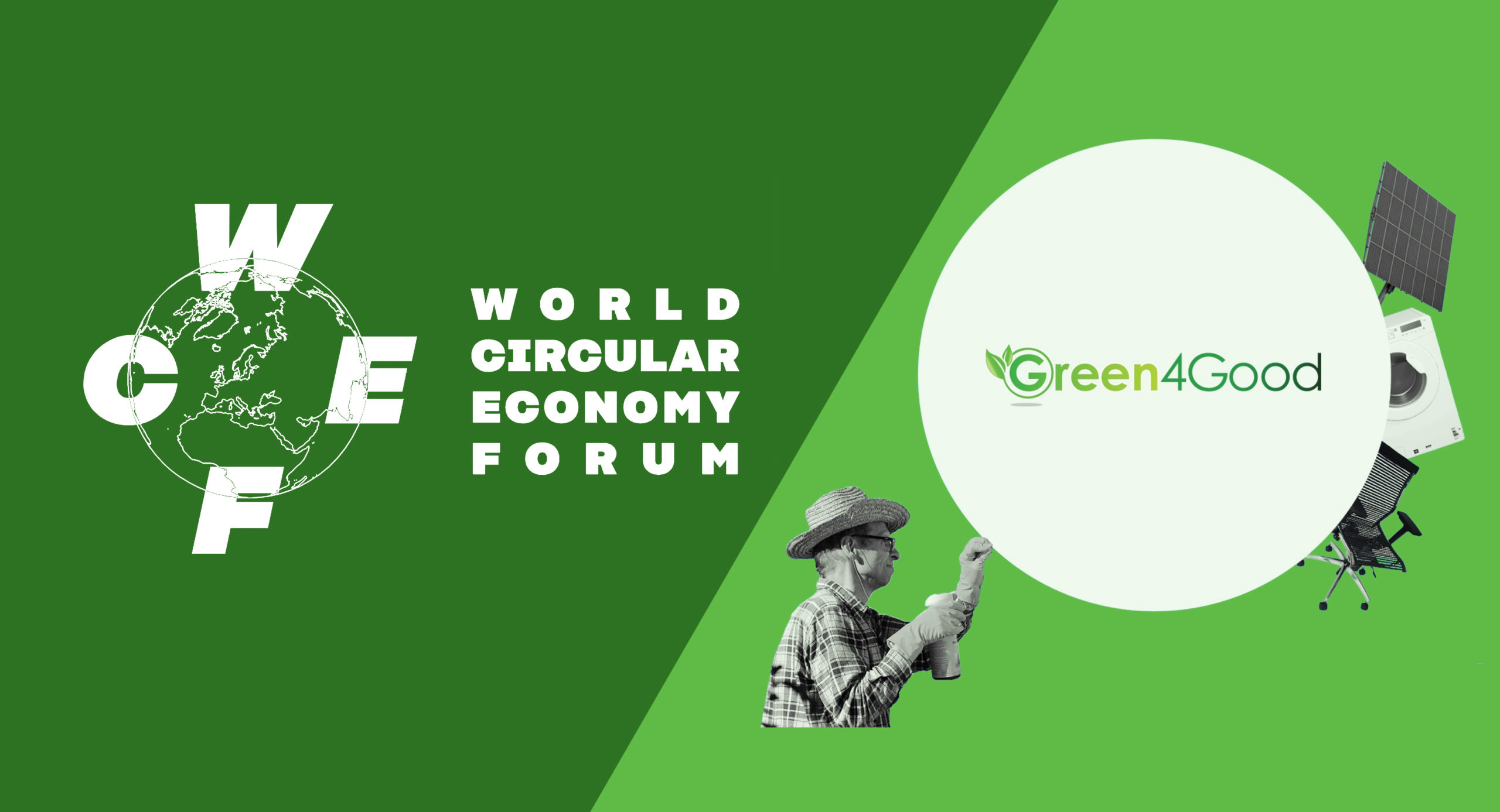 Green4Good program recognized in the World Circular Economy Forum's list of inspiring solutions from around the world